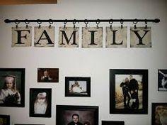 Resultado de imagem para letters hanging from curtain rod