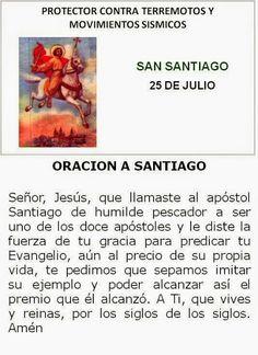 Oración al Apóstol Santiago