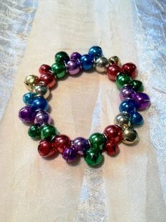 Jingle Bells Bracelet for Older Children and Adults by NorthCoastCottage Jewelry Design & Vintage Treasures on Etsy.com! $19.00
