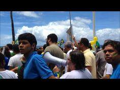 CAMINHADA - SALVADOR VAI PRA RUA - Fora Dilma, Fora PT - Farol da Barra ...