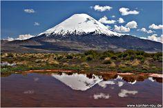 volcanes de chile -volcan guallatiri