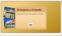 """""""El Congreso y el Senado"""" es una pequeña aplicación de librosvivos.net en la que, tras una pequeña exposición, se prueba el conocimiento que tienen los alumnos sobre el papel que Congreso y Senado tienen en la Constitución Española."""