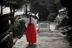 巫女 - Shrine maiden- Miko
