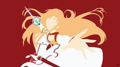 Yuuki Asuna V2 (Sword Art Online) Minimalism by greenmapple17.deviantart.com on @DeviantArt