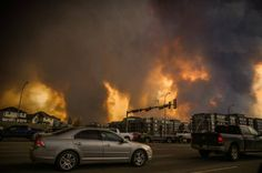 Fort McMurray on fire