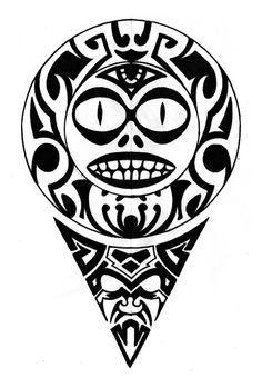 Aztec ornament by shepush
