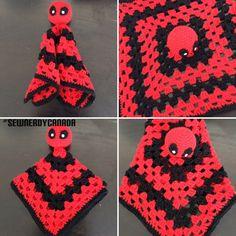 Deadpool Snuggle Buddy Crochet Pattern by SewNerdyCanada on Etsy https://www.etsy.com/listing/266729954/deadpool-snuggle-buddy-crochet-pattern