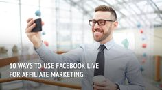 Do you use Facebook Live? You should! It can help with brand awareness, more conversions and 10 other things! Find out with what! Live For Yourself, Affiliate Marketing, Facebook, Blog