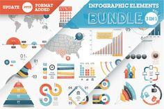 40% OFF Infographic Elements Bundle - Presentations