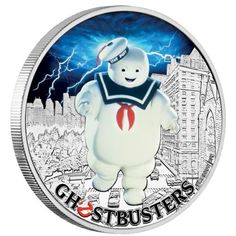 Buy Now: http://goccf.com/pm/ghostbusters-stay-puft-2017-1oz-silver-coin  Perth Mint New Release: Ghostbusters™ - Stay Puft 2017 1oz Silver Coin - Coin Community Forum