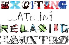 London = Exciting / Watching / Relaxing / Haunted http://typetastingnews.com/2013/06/05/event-london/