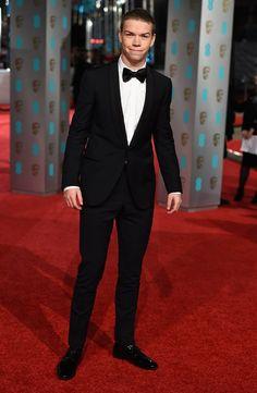 Pin for Later: Les Stars Se Rendent à Londres Pour les BAFTA Film Awards Will Poulter