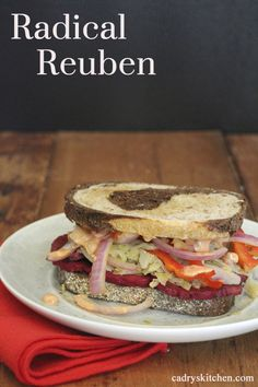 Radical Reuben recipe from the New Chicago Diner Cookbook - all vegan and AMAZING