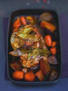 Ψητό μοσχάρι με λαχανικά
