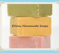 Homemade Soap, Choose Scent