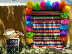Photo booth idea...Mexican party
