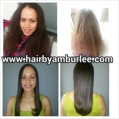 Before and after Anti-frizz treatment Anti Frizz, Hair Straightening, Straightener, Curly Hair Styles, Hair Smoothing