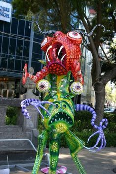 Alebrijes in Mexico City