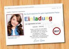 Ausgefallene Einladungskarten Jugendweihe 79   Bild Vergrößern