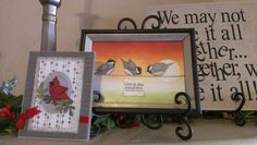 3-D art work for cards and frames