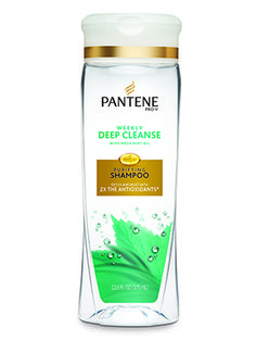 This Best of Beauty-winning Pantene shampoo rids hair of the minerals and impurities found in tap water and sends dirt, oil, and dulling residue down the drain....