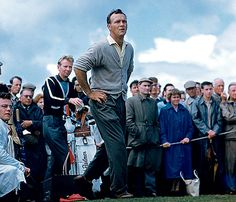A young king, Arnold Palmer. #golf #legend