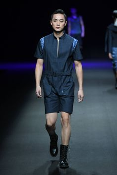 Male Fashion Trends: GIOIA PAN Spring-Summer 2017 - Mercedes-Benz Fashion Week China