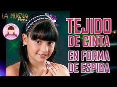 PEINADO INFANTIL/ trenza puente con tejido X/ peinado para niñas/ peinados - YouTube