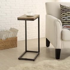 Eliza Snack C Table | Overstock.com Shopping - The Best Deals on Coffee, Sofa & End Tables