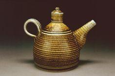 soda-fired ewer by Gary Jackson : Fire When Ready Pottery