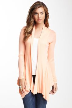 Renee C Ribbed Knit Cardigan I am obsessed with finding this cardigan in other colors