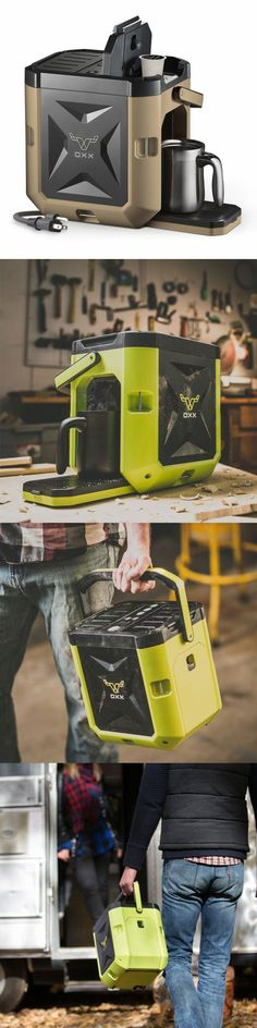 Oxx COFFEEBOXX built Beyond Rugged to endure the harshest environments. It's designed to deliver a hot cup of premium coffee to the hardest workers on the planet @aegisgears