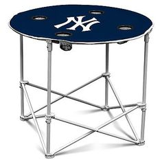 Logo Chair NY Yankees Round Table 520-31