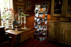 escort card display and photo gallery