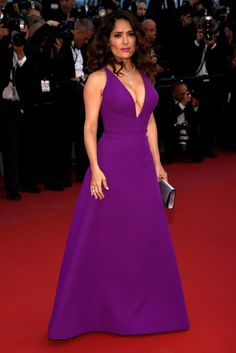 Salma Hayek Pinault   31 Flawless Celebs Dressed To Kill At Cannes