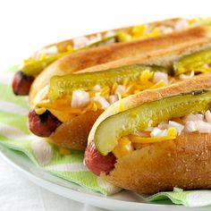 Amber Ale Hot Dog Buns