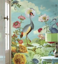 Kiss the Frog Wallpaper by Brian Yates | Jane Clayton