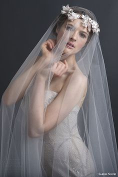 Sareh Nouri #Bridal Spring 2016 #Wedding Dresses | Wedding Inspirasi #weddings #weddinggown #weddingdress
