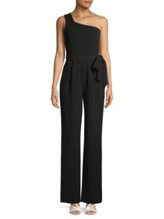Calvin Klein Collection One-shoulder Jumpsuit In Black One Shoulder Jumpsuit, Calvin Klein Collection, Black Jumpsuit, Clothes, Shopping, Style, Fashion, Outfits, Swag