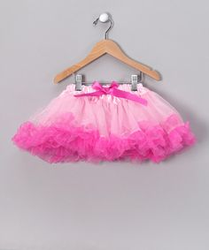 Take a look at this Light Pink & Fuchsia Tutu - Toddler by Story Book Wishes on #zulily today!