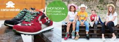 Carta Vetrata ecologic shoes - 100% made in Italy - 100% organic