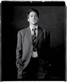 Troubled... but likable! Right? : ) Robert Downey Jr