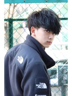 ネイビー(NAVY) ツーブロックスマートマッシュ☆サイドパートビジカジ 恭平 Asian Men Hairstyle, Hair Designs, Barber, The North Face, Short Hair Styles, Hair Cuts, Hair Beauty, Sporty, Boys