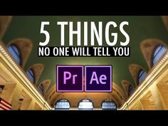 5 Things Nobody Will Tell You About Video Editing (Adobe Premiere Pro CC Tutorial) Adobe After Effects Tutorials, Effects Photoshop, Photoshop Brushes, Photoshop Actions, Motion Design, Video Editing, Photo Editing, Film Effect, Adobe Premiere Pro