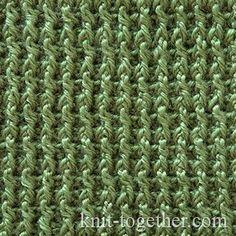 Crochet Stitches Description : Crochet Rib Stitch - detailed description and crochet chart. Crochet ...