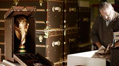 Louis Vuitton design travelling case for World Cup trophy! | Luxury Safes handmade , luxurydesign , arts & crafts , bocadolobo , luxuryfurniture www.bocadolobo.com