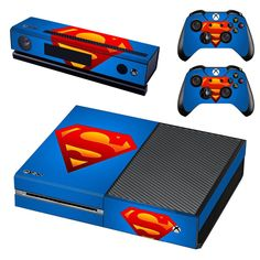 Now available at our store!  http://www.hellodefiance.com/products/superman-skin-sticker-for-xbox-one?utm_campaign=social_autopilot&utm_source=pin&utm_medium=pin