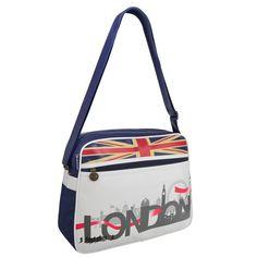 Geanta sport London este ideală pentru cei care se încadreaza în stilul sport-casual. Un Happy Share îți poate aduce 4% comision din vânzările generate.