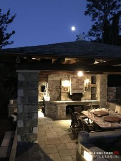 Details of a residential mansion _ barbeque area