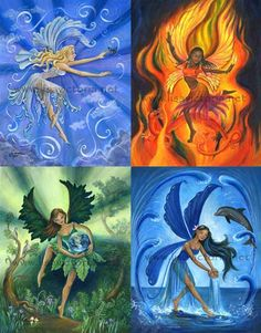 earth wind fire and water elements | wind, fire, earth, and water